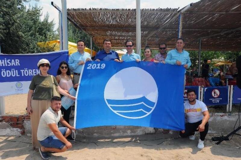 Seferihisar'da 8 halk plajına mavi bayrak