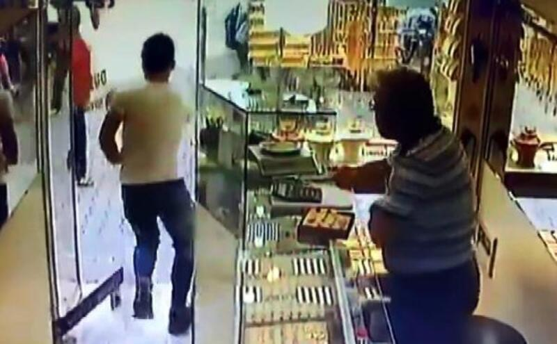 Alyans hırsızı tutuklandı