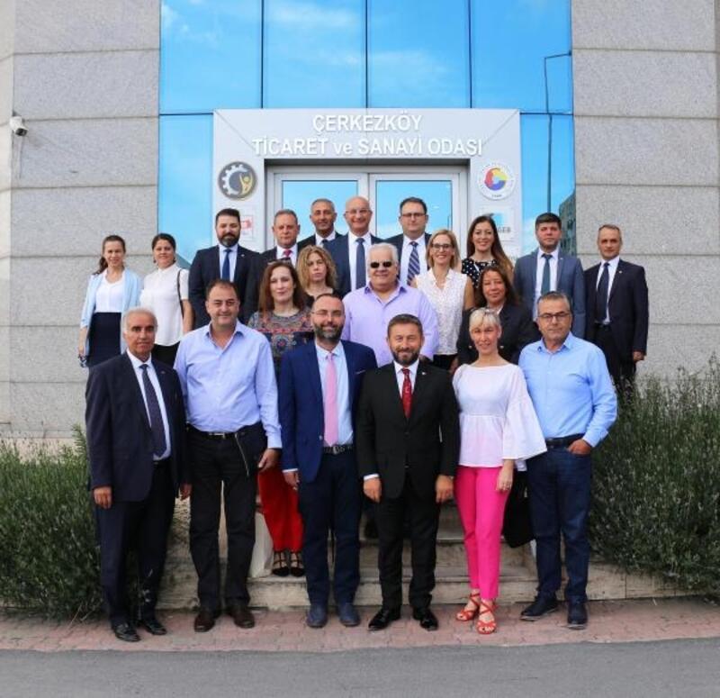 Çerkezköy'de Türk-Yunan KOBİ'leri için işbirliği başlıyor