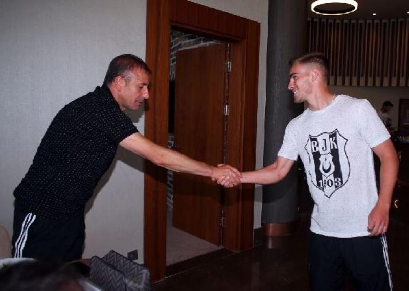 Beşiktaş'ta yeni transfer Tyler Boyd kampa katıldı