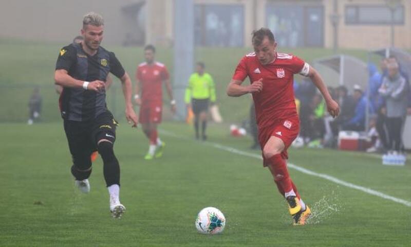 Demir Grup Sivasspor-Yeni Malatyaspor maçına sis engeli
