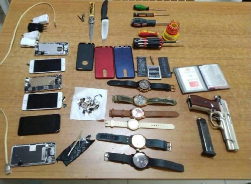 Erdek'te hırsızlık olayına karışan 3 kişi tutuklandı