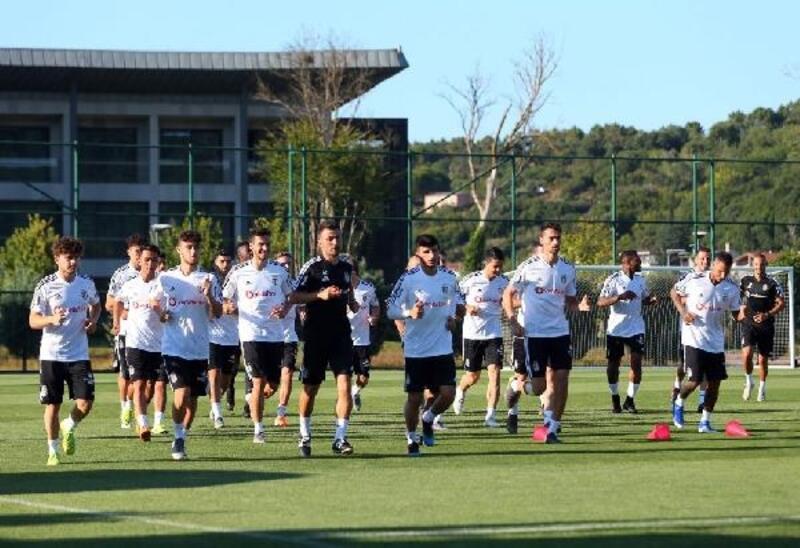 Beşiktaş'ta Tyler Boyd takımla çalıştı