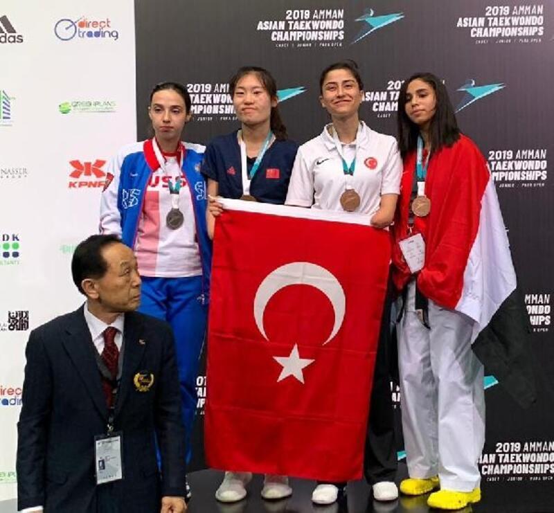 Asya Açık Para-Tekvando Şampiyonası'ndan 5 madalya
