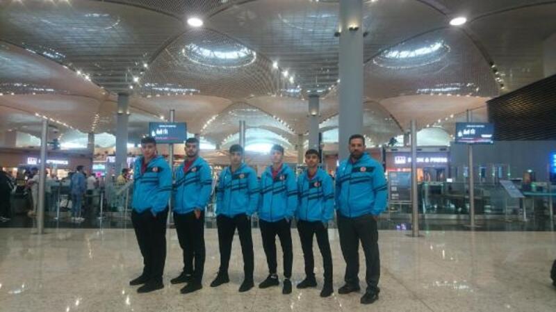 Ümit Milli Judo Takımı EYOF için Bakü'ye gitti