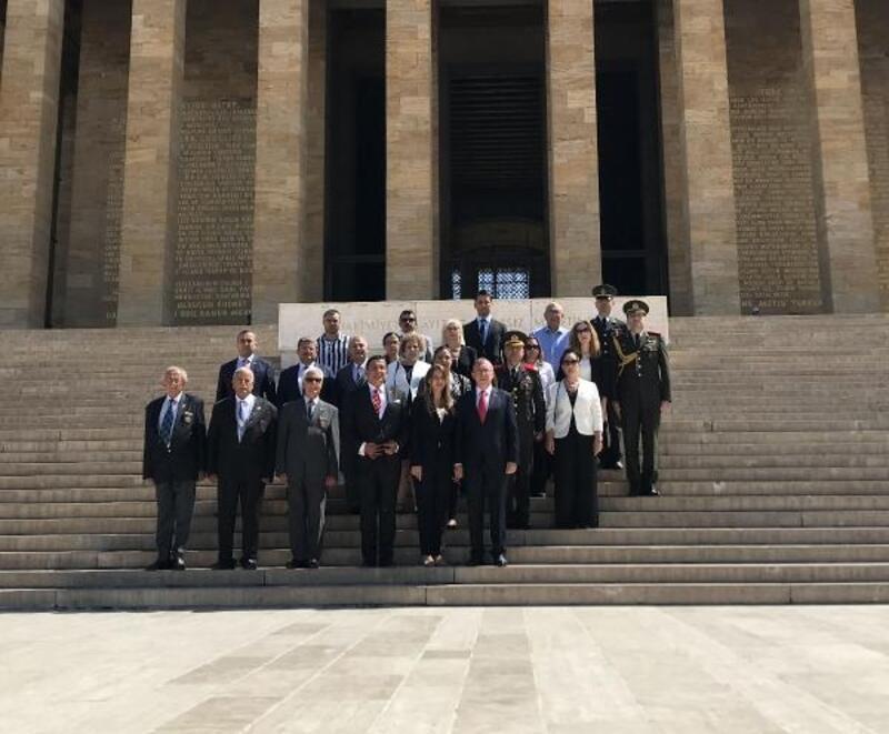 Kıbrıs Barış Harekatı'nın 45'nci yıl dönümü kutlandı