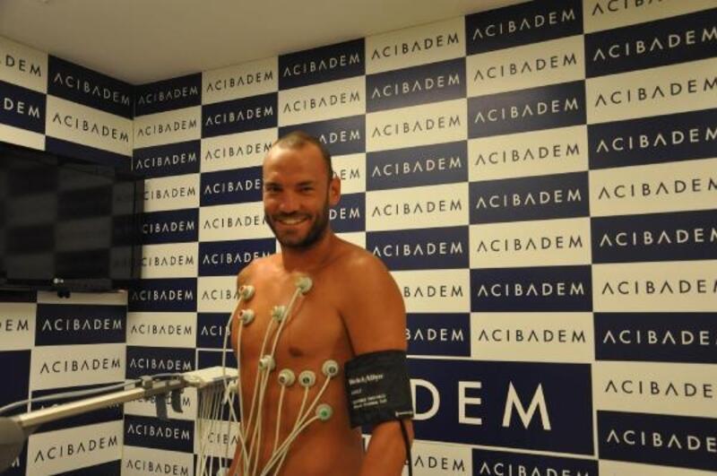 Yeni Malatyaspor'da Ufuk Ceylan sağlık kontrolünden geçti