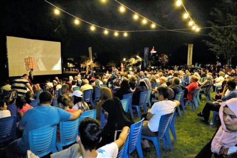 Gaziantep'te, yazlık sinema günleri