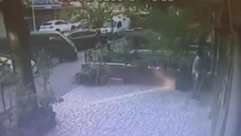 Fatih'te televizyon hırsızları kamerada