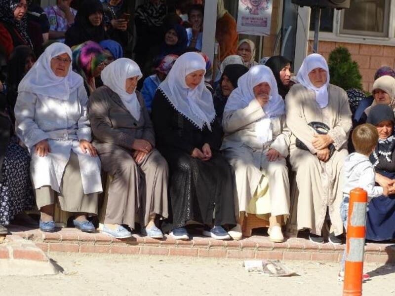 Hisarcık'ta, hac kafilesi kutsal topraklara uğurlandı