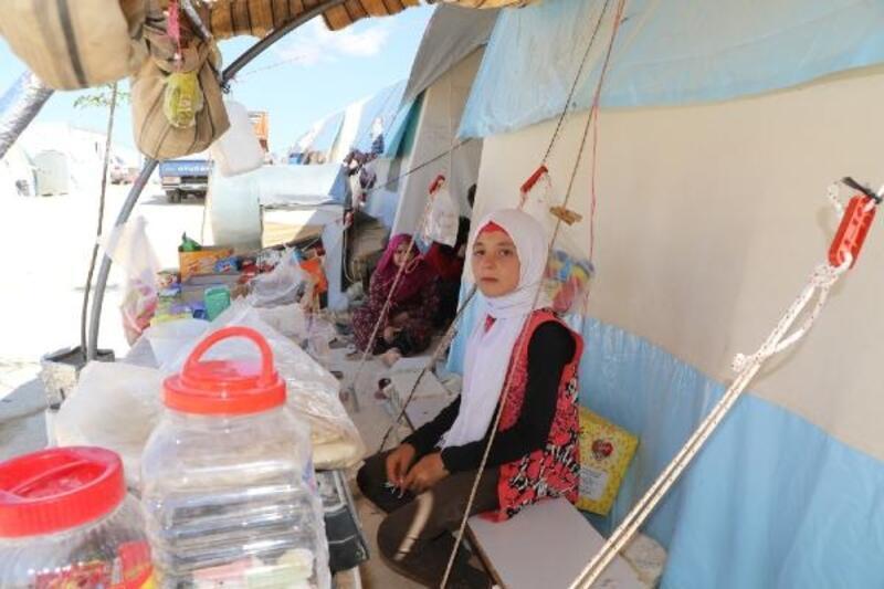 İdlib kırsalına 400 çadırlık yeni kamp