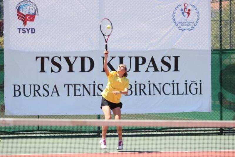 TSYD Bursa Tenis Turnuvası'na geri sayım