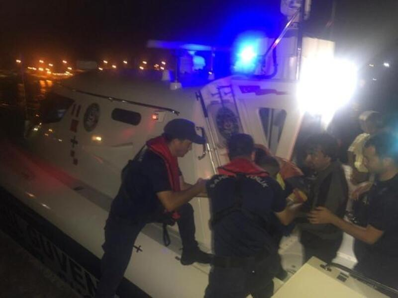 Didim'de 53 kaçak göçmen yakalandı