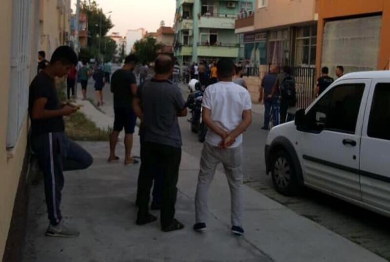 Komşu kavgasında bir kişi yaralandı