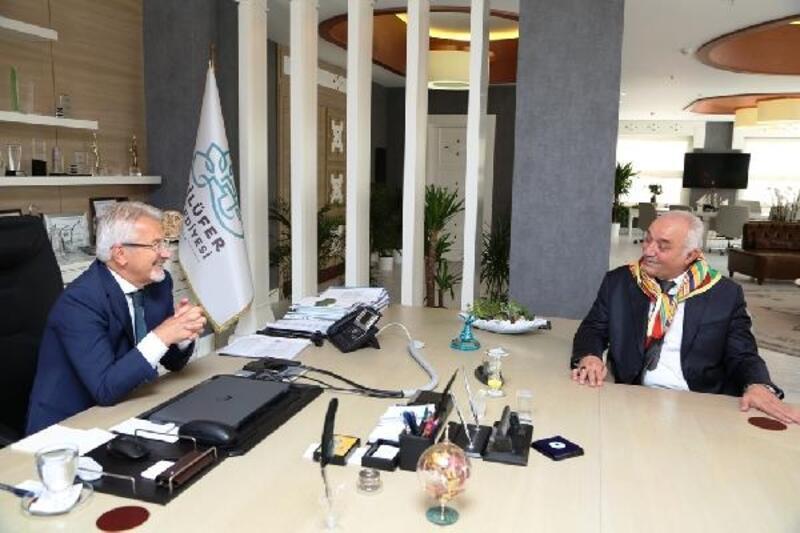 Yörüklerden Nilüfer Belediye Başkanı Erdem'e ziyaret