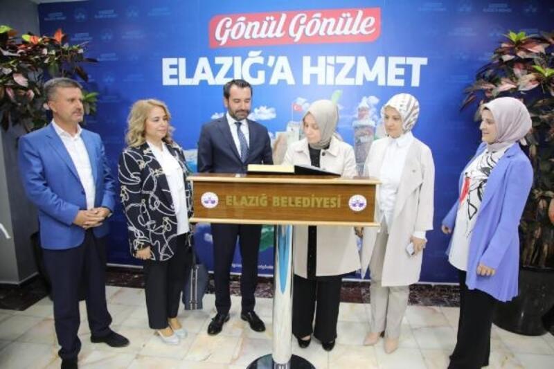 AK Parti'li Usta'dan Elazığ Belediyesi'ne ziyaret