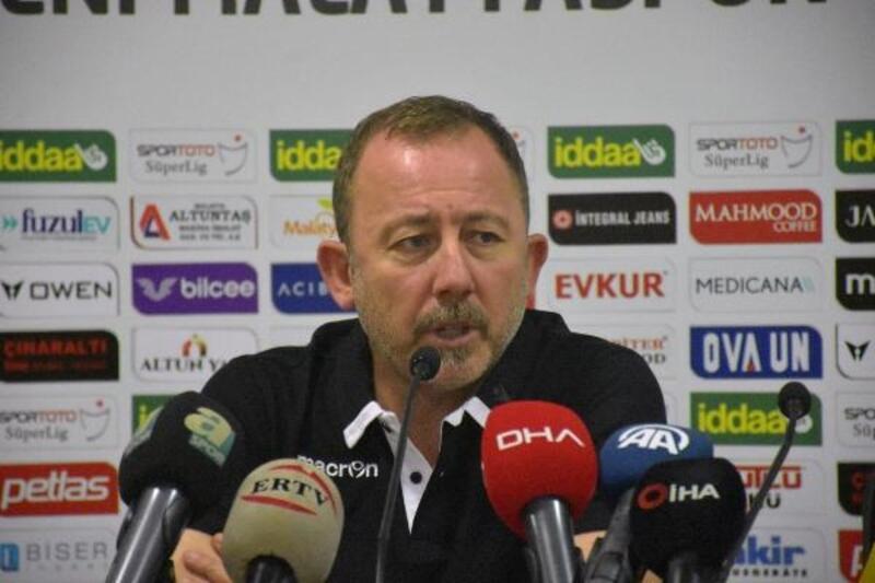 Sergen Yalçın: UEFA Kupası'nda bir hedefimiz var