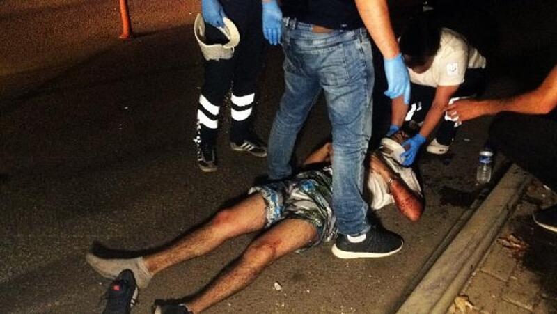 Yarışan gençler kaza yaptı: 1'i ağır, 3 yaralı