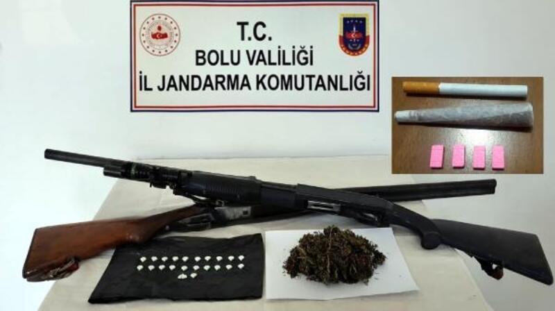 Mudurnu'da uyuşturucu operasyonu: 1 tutuklama
