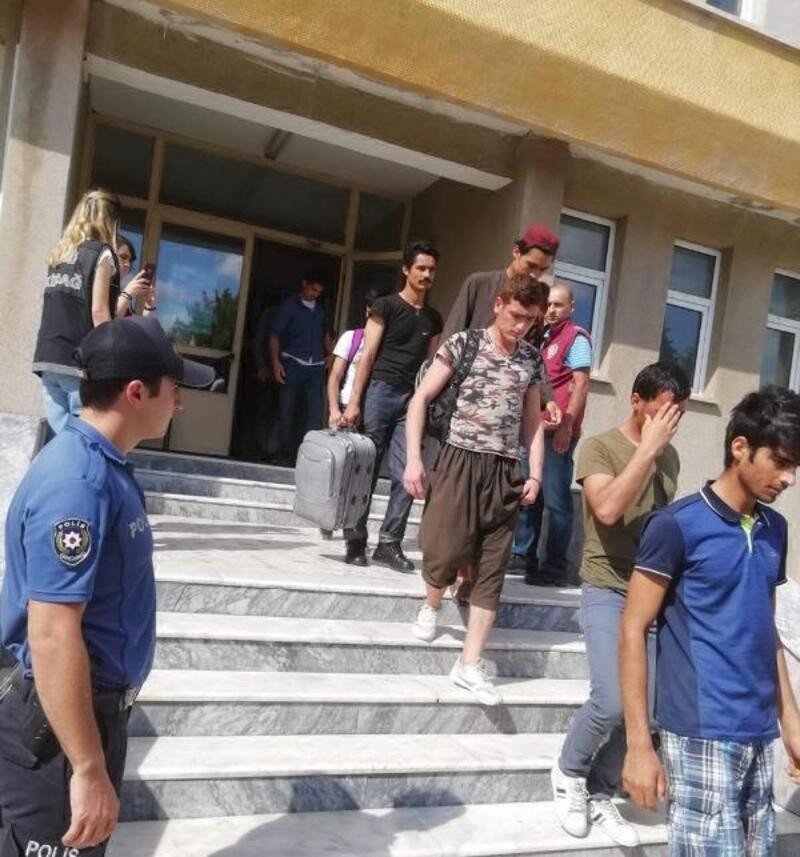 Tekirdağ'da 40 kaçak göçmen yakalandı