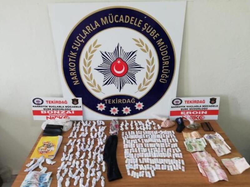 Tekirdağ'da uyuşturucu operasyonu: 13 gözaltı
