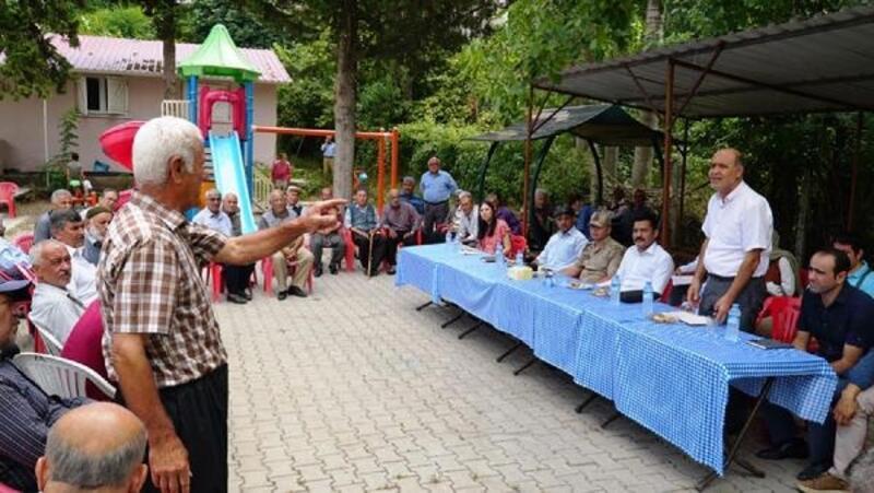Kaymakam Türkmenoğlu'ndan köy ziyaretleri