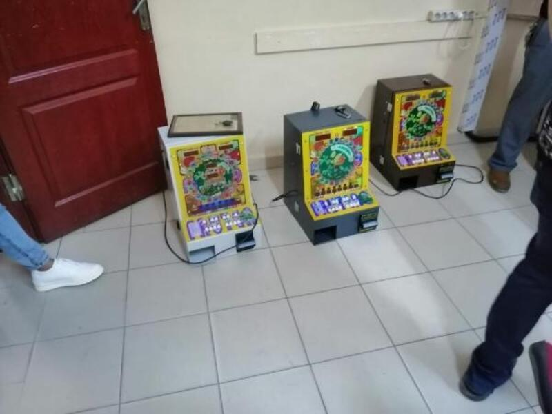Keşan'da 3 kumar makinesi ele geçirildi