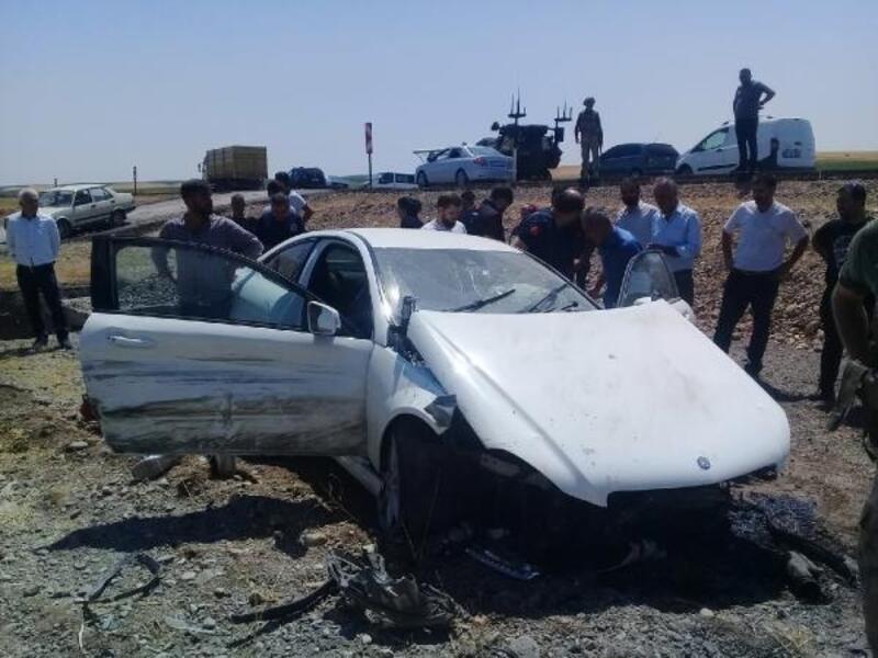 Gurbetçi ailenin otomobili şarampole yuvarlandı: 4 yaralı