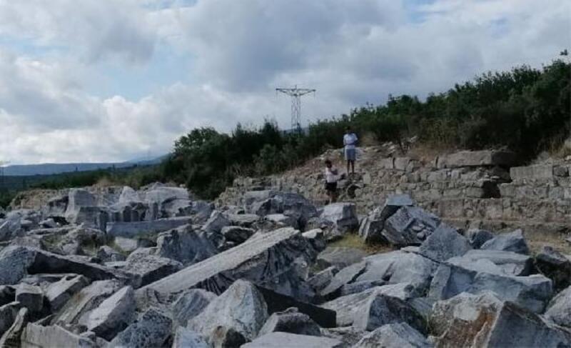 Erdek'te Kyzikos antik kentindeki kazılar başladı