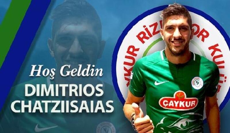 Çaykur Rizespor Dimitrios Chatziisaias`ı kadrosuna kattı