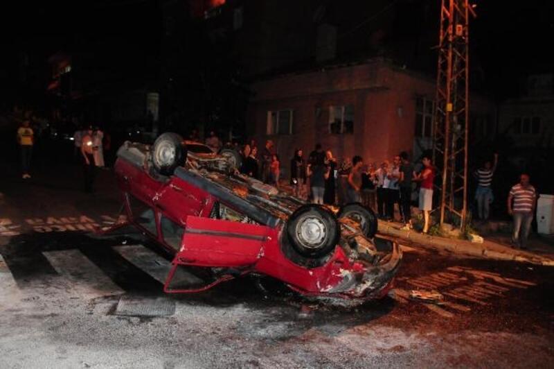 Nevşehir'de iki otomobil çarpıştı: 2 yaralı