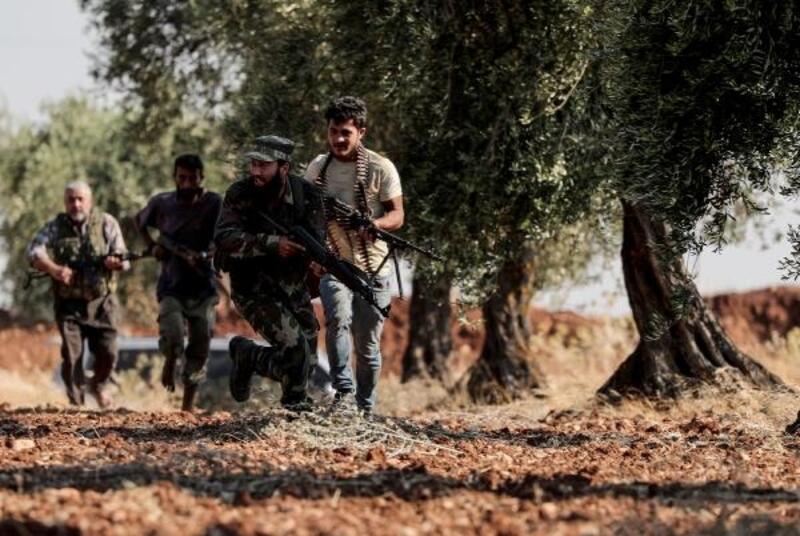 ÖSO güçleri, teröristlere karşı eli tetikte nöbet tutuyor
