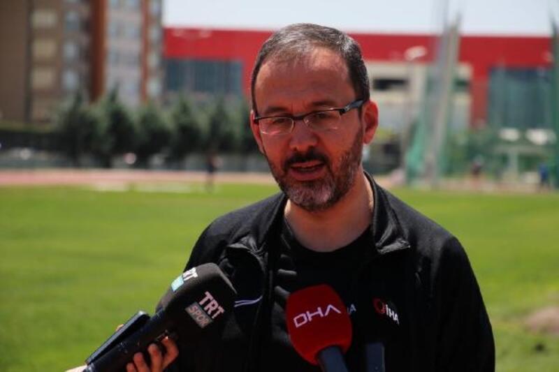 Bakan Kasapoğlu, olimpik hazırlık merkezini ziyaret etti