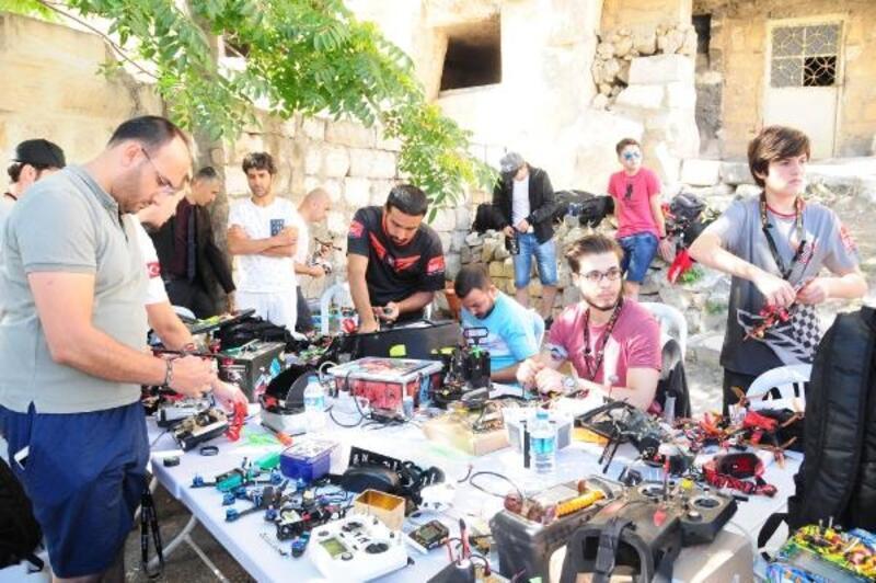 Türkiye Drone Şampiyonası'nın 3'üncü etabı Kapadokya'da başladı