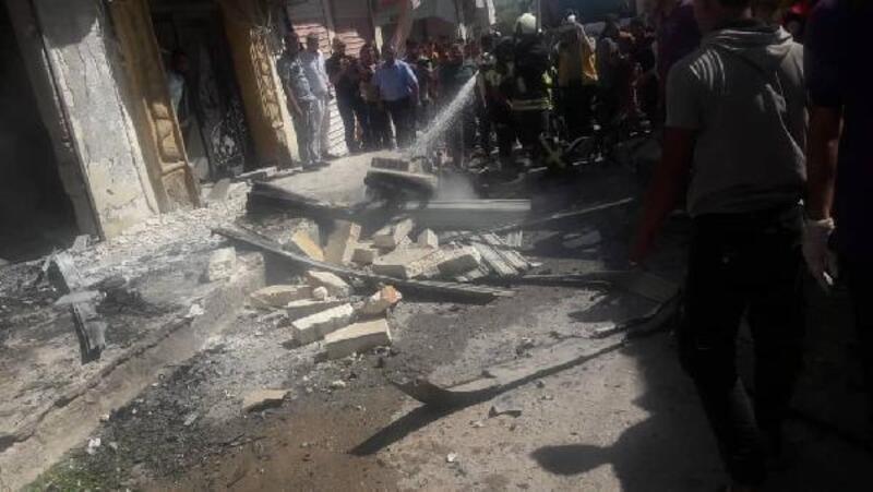 Azez'de bomba yüklü motosikletle saldırı: 11 yaralı