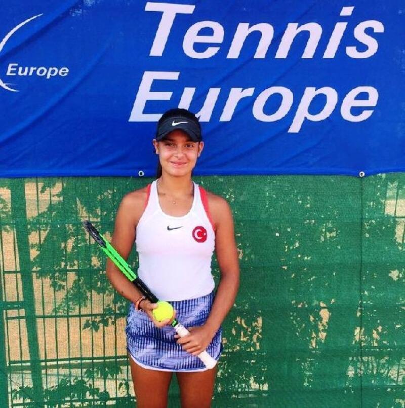 Melisa Ercan, 14 Yaş Avrupa Ferdi Şampiyonası'nda finalde