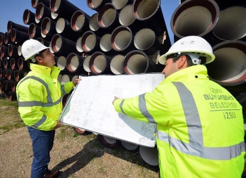 Foça'nın su şebekesi 58 milyon liraya yenilenecek