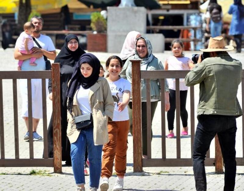 Uludağ'da Arap turist bereketi
