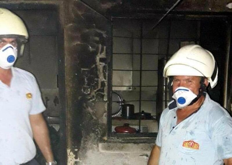 2 gün önce ateş açılan eve molotofkokteylli saldırı