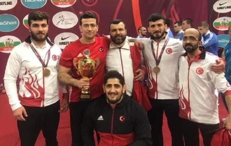 Güreş Milli Takımı, Minsk'te Avrupa 3'üncüsü oldu