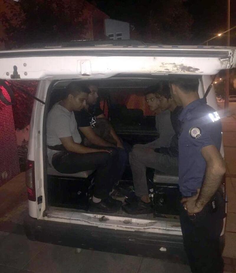 Tekirdağ'da 8 kaçak göçmen yakalandı
