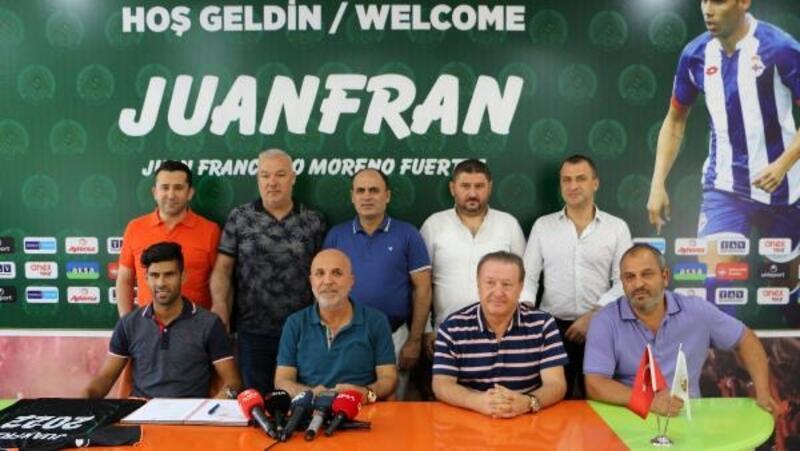 Alanyaspor, Juanfran'ı renklerine bağladı