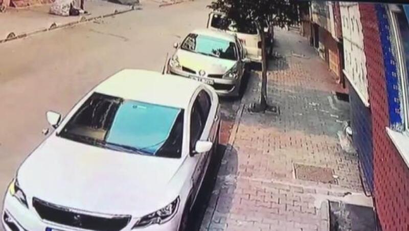 Esenler'de 6. kattan atılan Yunus bebek otomobilin üzerine düşerek yaralandı