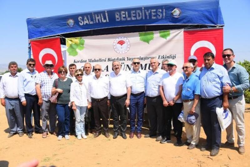 Salihli'de 'Tarla Günü' düzenlendi