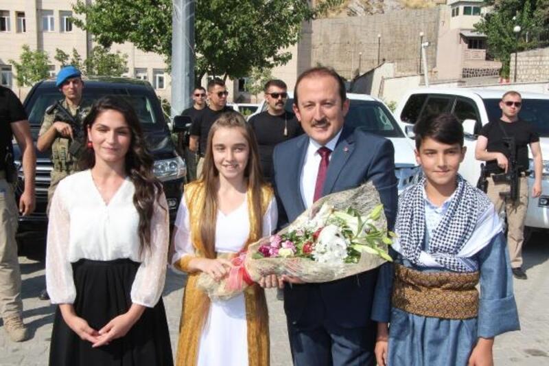Şırnak'a atanan Vali Pehlivan göreve başladı