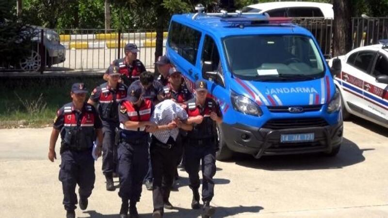 Mengen'de telefon teli çaldığı iddia edilen 2 kişi adliyede