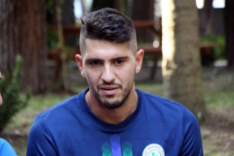 Rizespor'un yeni transferi Chatziisaias: Balık yemek için sabırsızlanıyorum