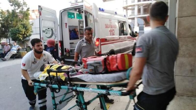 Boğulma tehlikesi geçiren çocuk son anda kurtarıldı