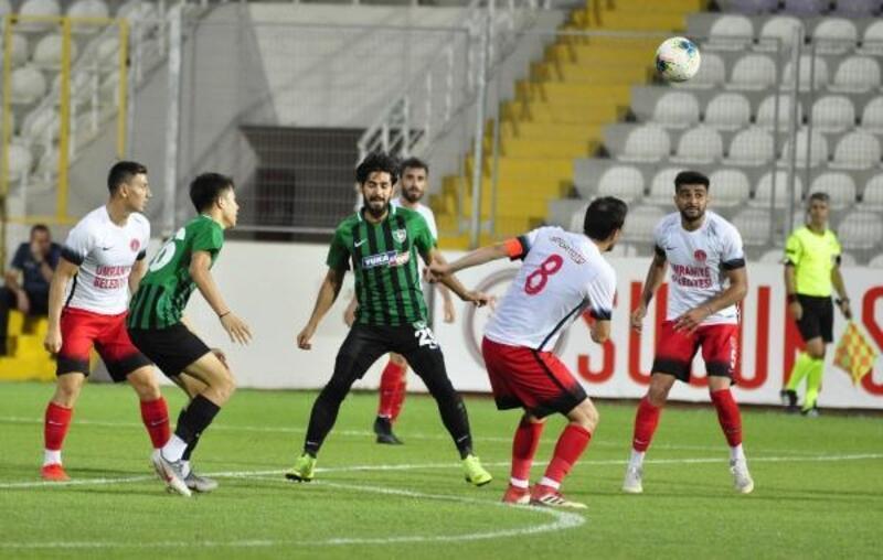 Yukatel Denizlispor - Ümraniyespor: 2-2