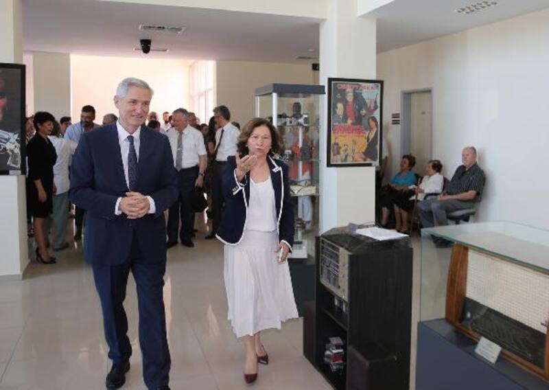 ÇÜ İletişim Fakültesi İletişim Araçları Müzesi açıldı